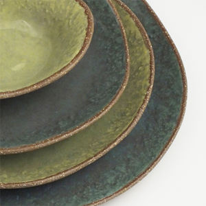 Hill & Dale Dinnerware by Claire Waddick