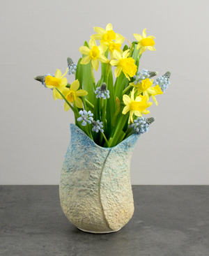Spring Vase by Claire Waddick