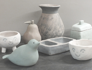 Carve and Squeeze Online Class Sample Pottery